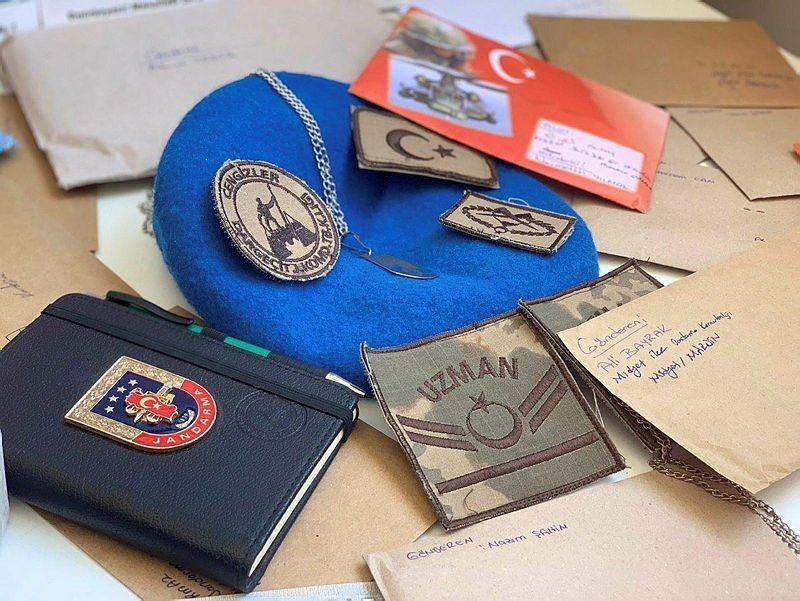 Mehmetçikten, moral mektubu gönderen Muğla'daki öğrencilere teşekkür