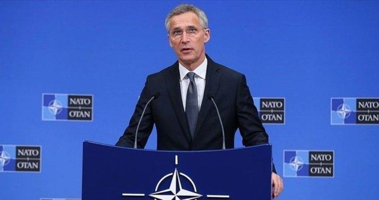 NATO Genel Sekreteri Stoltenberg'den flaş Suriye açıklaması