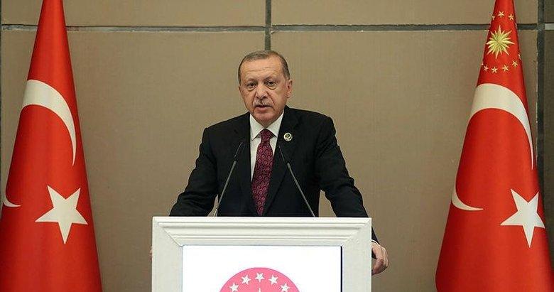 Erdoğan: Yaptırımlarla geri adım attıramazsınız