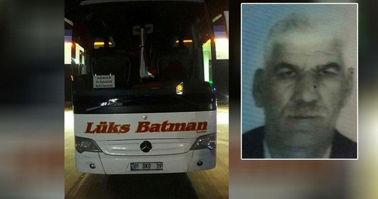 Otobüs şoförü bagajdaki dinlenme yerinde ölü bulundu