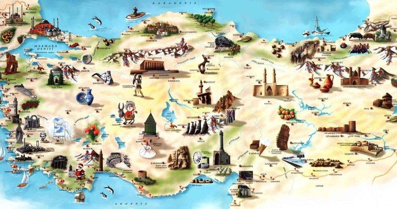 Türkiye'de hangi şehrin neyi meşhur? İşte il il meşhur olan şeyler...
