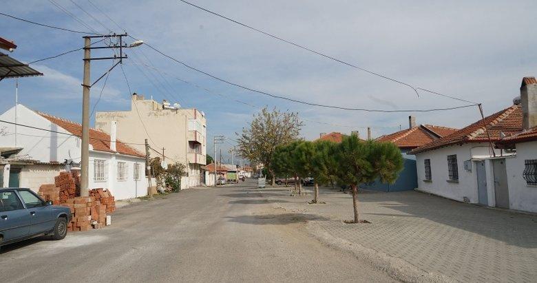 Balıkesir'in Edremit ilçesinde bazı binalar karantinaya alındı