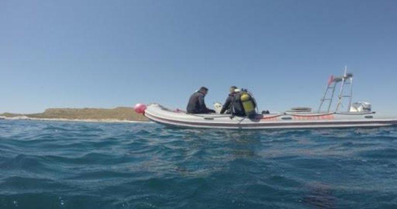Foça'daki tekne faciasındaki kayıp çocuğun arama çalışmaları sürüyor