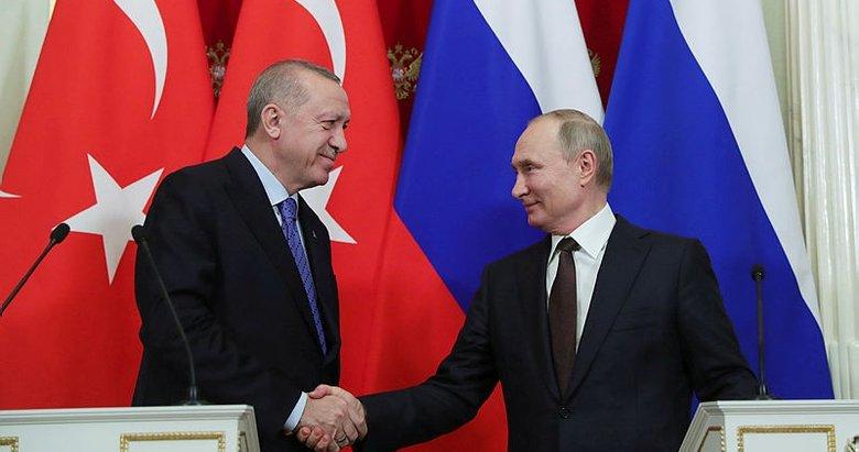 Son dakika: Başkan Erdoğan, Putin'le görüştü
