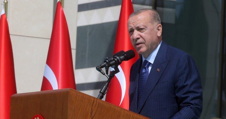 Başkan Erdoğan, Cumhurbaşkanlığı Külliyesi'ndeki işçi buluşmasında konuştu: Çalısanlarımızın yanındayız