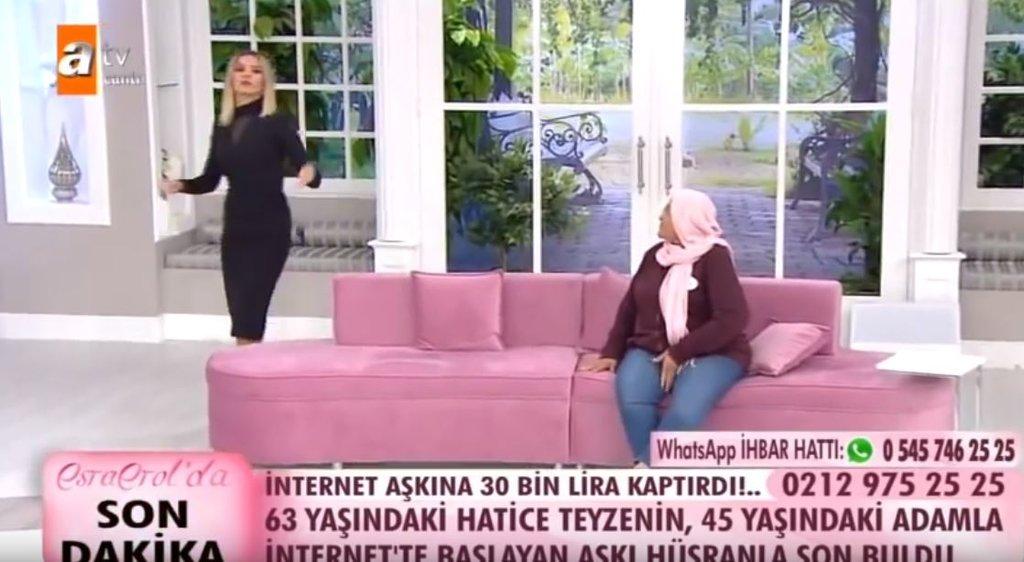 Esra Erol'da anlattı internet aşkına para kaptırdı!