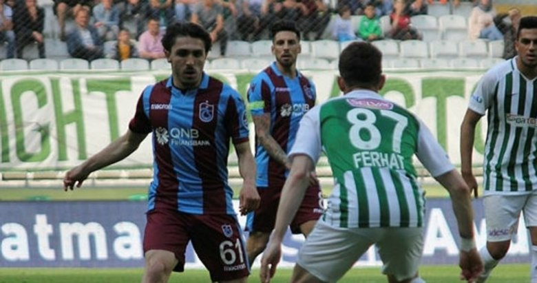 Konyaspor ile Trabzonspor'dan gollü beraberlik