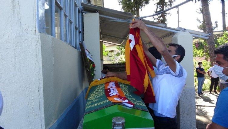 Şampiyonluk maçına dayanamadı! Kalp krizi geçiren Galatasaray taraftarı toprağa verildi