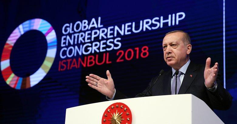 Cumhurbaşkanı Erdoğan: 12 bin kilometre mesafeden buraya niye gelinir?