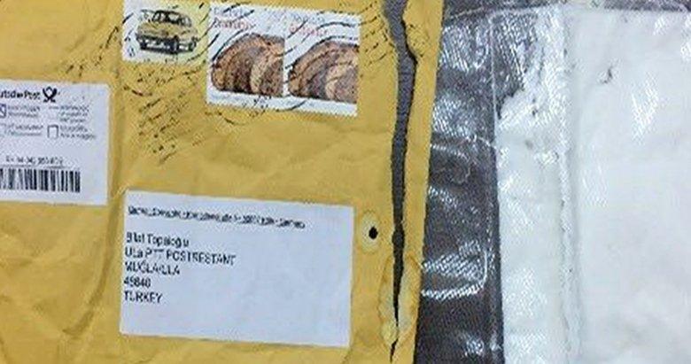 Almanya'dan Muğla'ya uyuşturucu postası