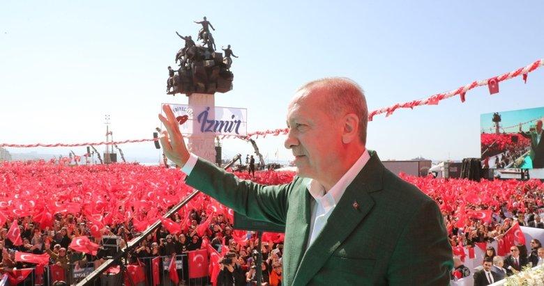 Başkan Erdoğan yeniden İzmir'e geliyor