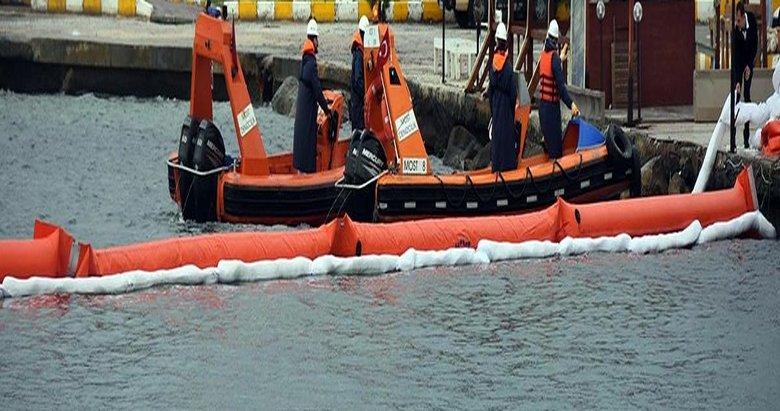 Urlada fuel oil akan denizin yüzde 70i temizlendi