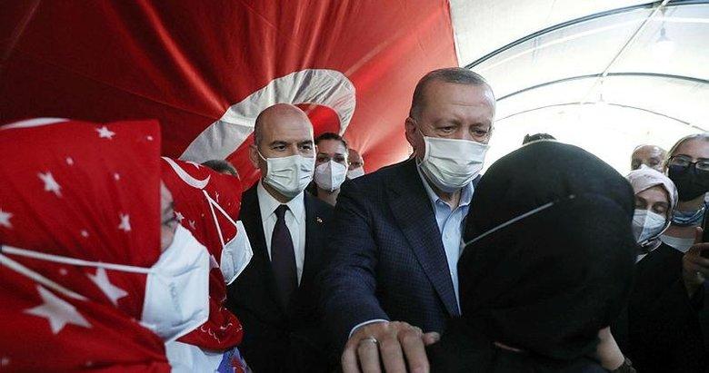 Başkan Erdoğan'dan Diyarbakır annelerine ziyaret! Tarihi buluşma