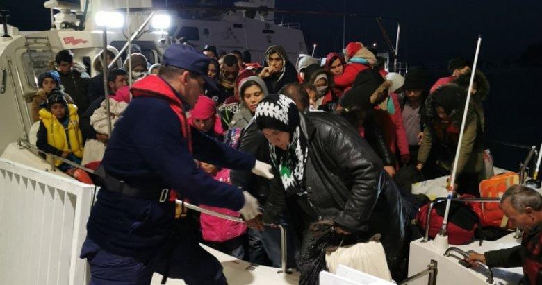 Aydın Kuşadası'nda 33 düzensiz göçmen yakalandı
