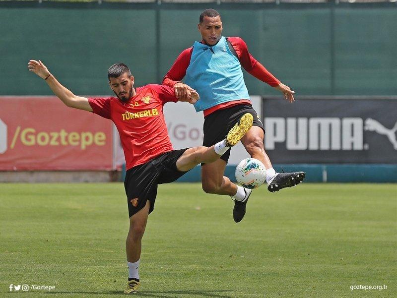 Göztepe Malatya maçına hazırlanıyor!