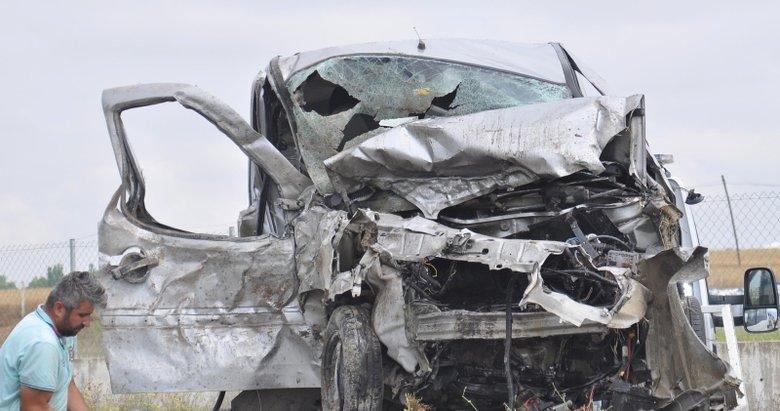 Eskişehirde trafik kazası: 5 ölü