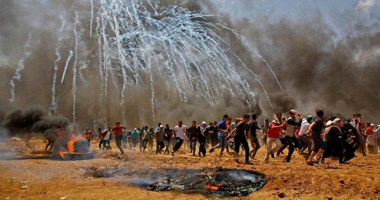 Gazze'de İsrail katliamı