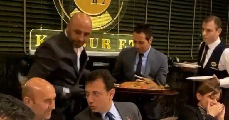 'Ekonomi kötüye gidiyor' yaygarası koparan CHP'liler lüks restoranda gösterişli eğlencede buluştu