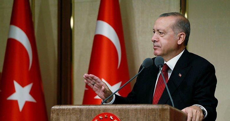 Başkan Erdoğan: Şehit yakınları ve gazilere yanlış yapan karşısında beni bulur