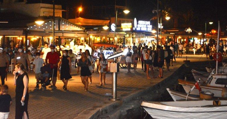 Cunda Adası'nda Kurban Bayramı yoğunluğu