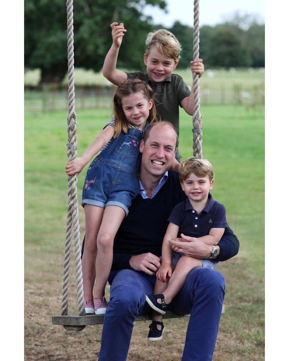 Prens William 38'inci doğum gününü kutladı! O anları eşi Kate Middleton fotoğrafladı