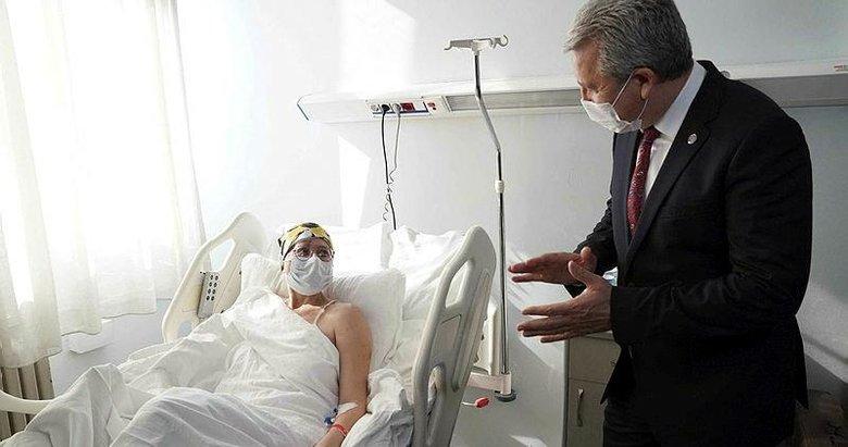 İzmir'de son yaralı depremzede taburcu edildi