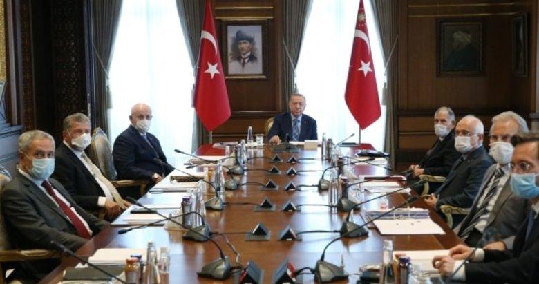 Başkan Erdoğan başkanlığında kritik YİK toplantısı!