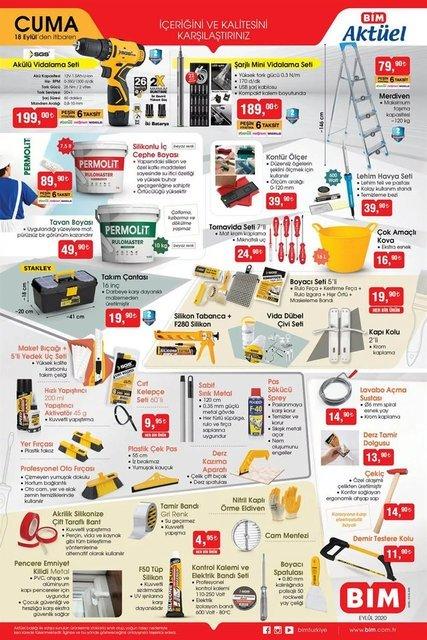 A101 BİM aktüel ürünler kataloğu! İşte haftanın indirimleri...