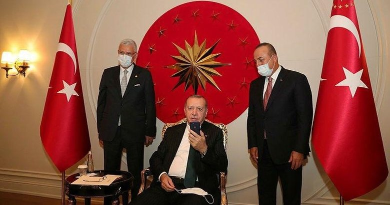 Başkan Erdoğan, Türkiye'nin BM Daimi Temsilcisi Sinirlioğlu ile görüştü