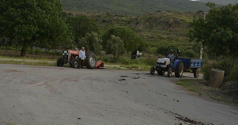 İzmir'in kırsal mahallelerinde yaşayan vatandaşlar tam kapanmada ekonomiye katkı sağlıyor