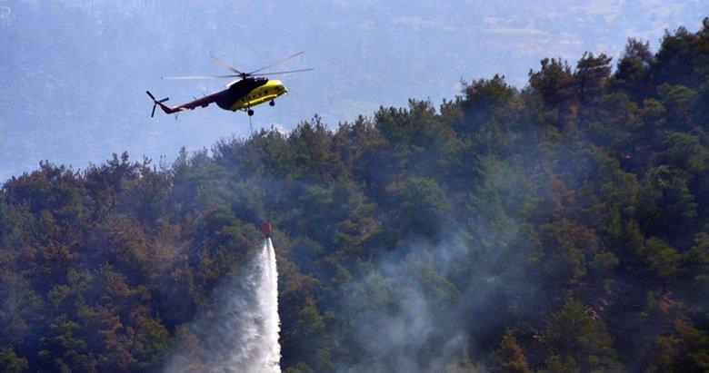 Manisa Valiliği orman yangınıyla ilgili detayları paylaştı