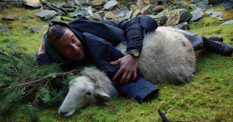 Bear Grylls kamera arkası görüntüleri ortaya çıktı! Herkesi böyle kandırmış