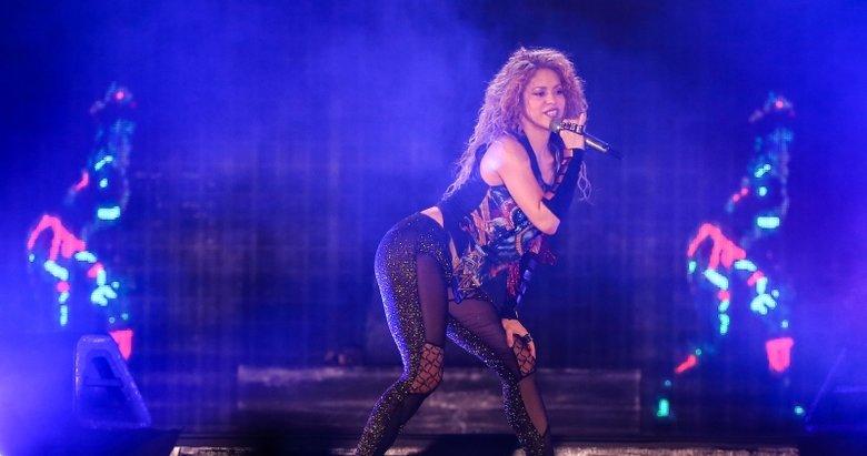 Vodafone Park'ta Shakira rüzgarı