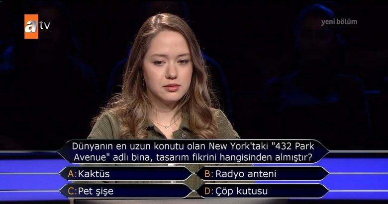 Kim Milyoner Olmak İster'e damga vuran soru! Milyoner yeni bölüm soru ve cevapları...