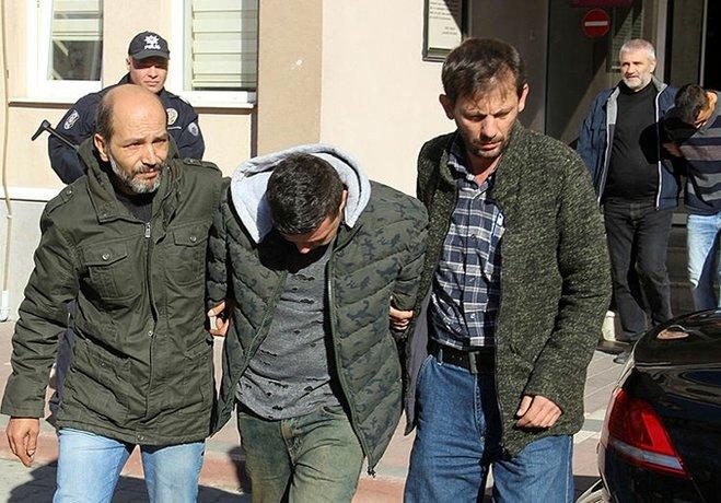 Vurgun yapıp İzmir'e kaçmışlar