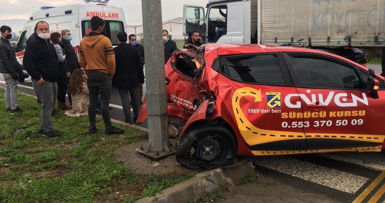 Kazada ağır yaralanan komisyon görevlisinden acı haber geldi