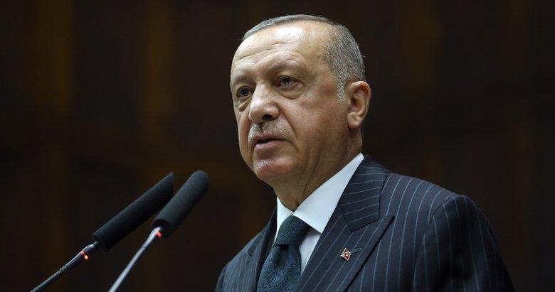 Başkan Erdoğan'dan şehit ailesine başsağlığı telgrafı