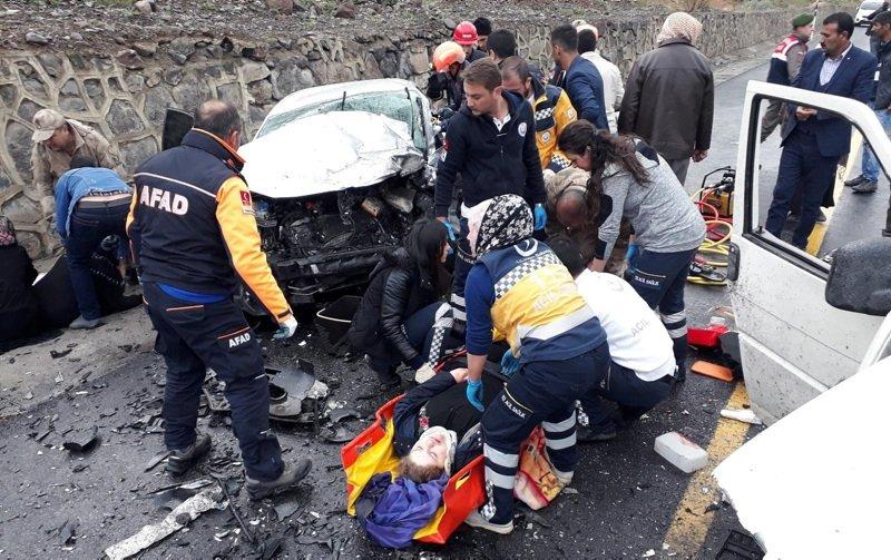 Erzurum'da katliam gibi kaza