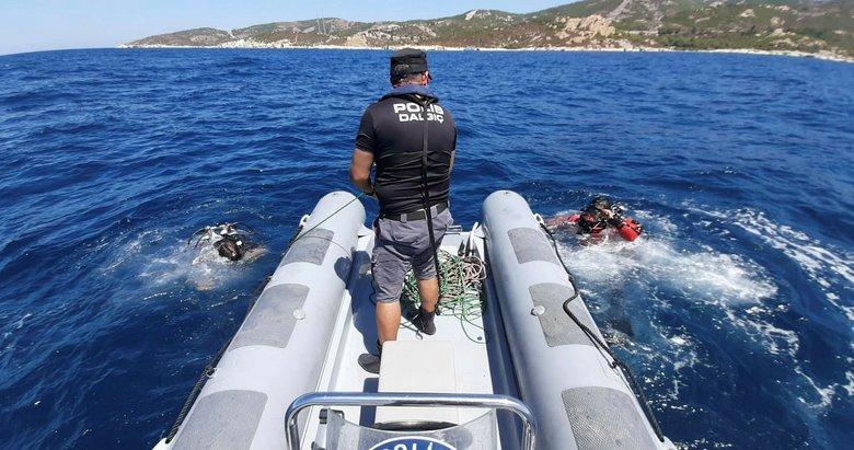 Foça'daki tekne faciasında kaybolan Sarp'tan hala haber yok