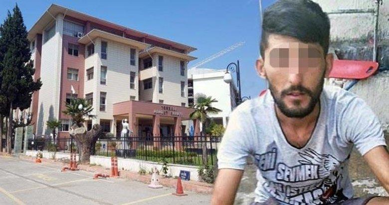 İzmirde serbest kalan şüphelinin sevinci kısa sürdü!