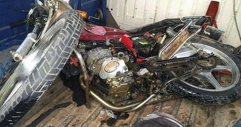 Kazada yaralanan motosiklet sürücüsünden acı haber geldi