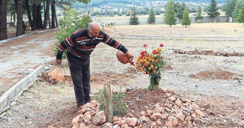 Cinayet kurbanının 22 yıl sonra mezarı oldu