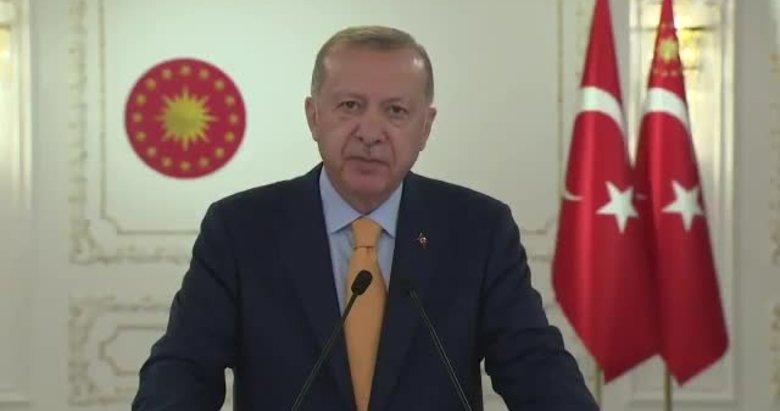 Başkan Erdoğan'dan dünyaya mesaj