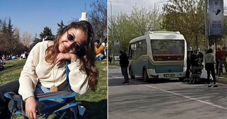 Üniversiteli Simay minibüsün altında kaldı! İzmir'de yürek yakan ölüm