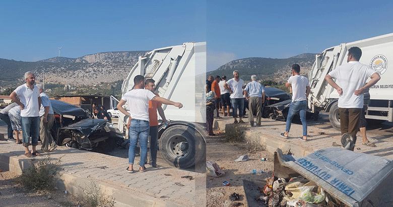 İzmirde trafik kazaları: 1 ölü, 3 yaralı