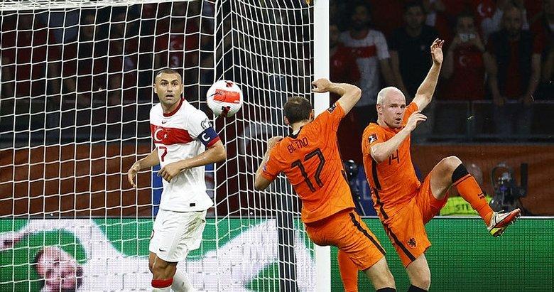 Hollanda oynadı, Millilerimiz seyretti: 6-1