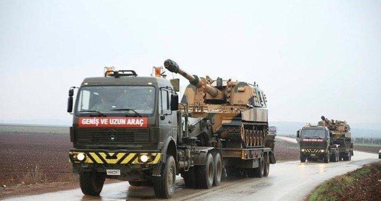 TSK'dan Suriye sınırına obüs ve tank sevkiyatı