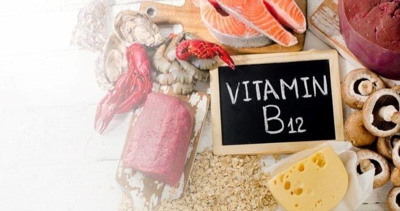 B12 vitamini eksikliğinin belirtileri nelerdir? B12 hangi besinlerde bulunur?