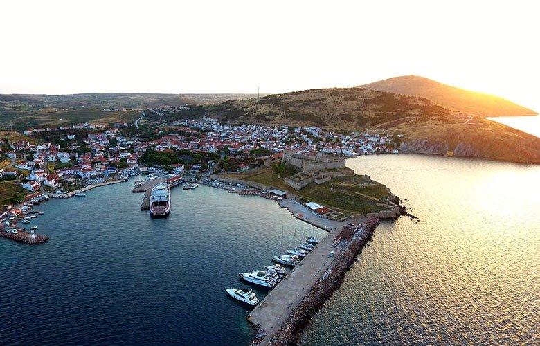 Turizm cenneti Bozcaada'da, konaklama tesisleri açıldı