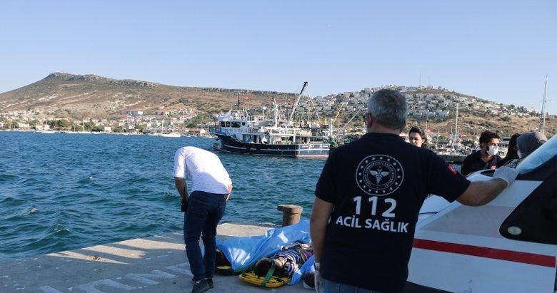 Foça'daki tekne faciasında kaptan adliyeye sevk edildi